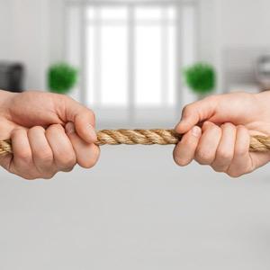 rechtsbijstand touwtrekken